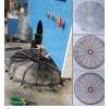 直销风扇网罩平面自动绕线机,平面围边排焊机
